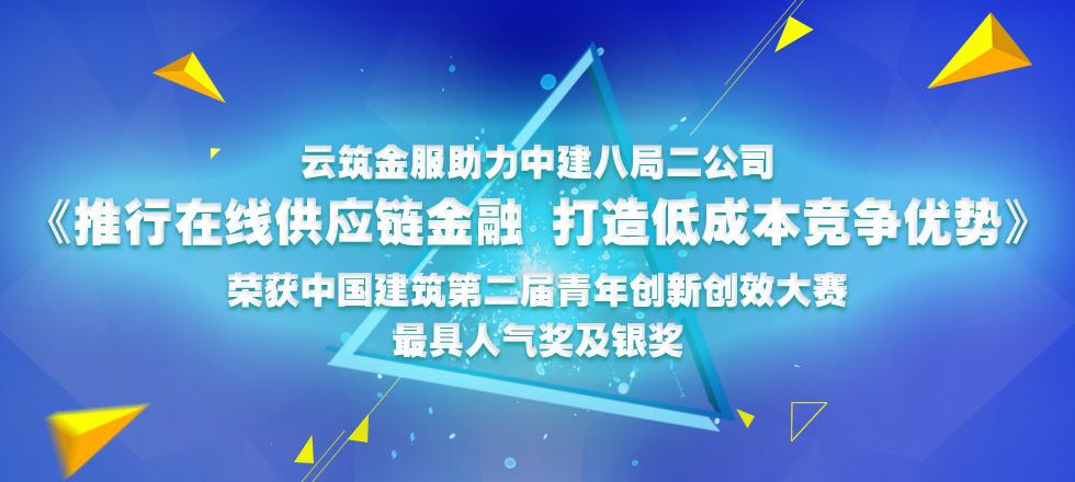 中国建筑第二届青年创新创效大赛获奖